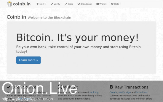 Bitcoin Wallet by Coinb.in