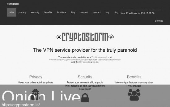 Cryptostorm VPN