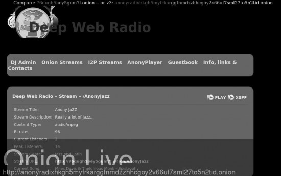 Deep Web Radio