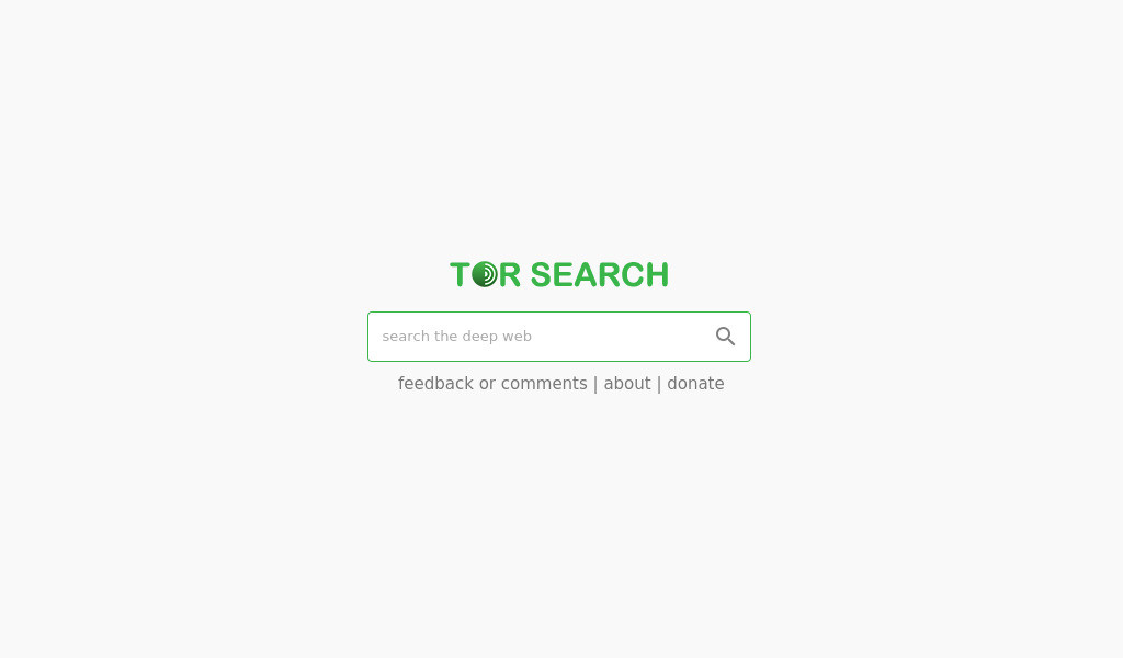Tor Search